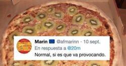 Enlace a Lo que le pasó al hombre que inventó la pizza con kiwi es karma, por @20m