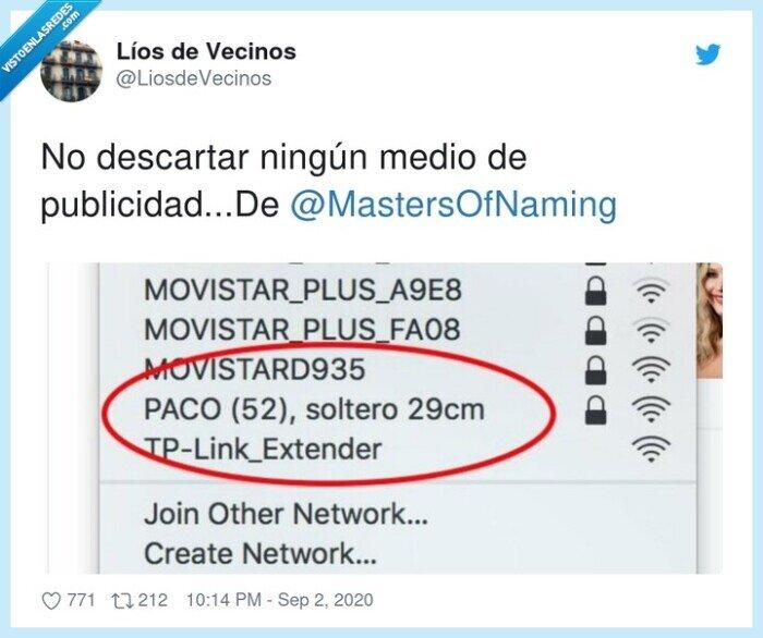 @mastersofnaming,cm,descartar,medio,ningún,publicidad,wifi
