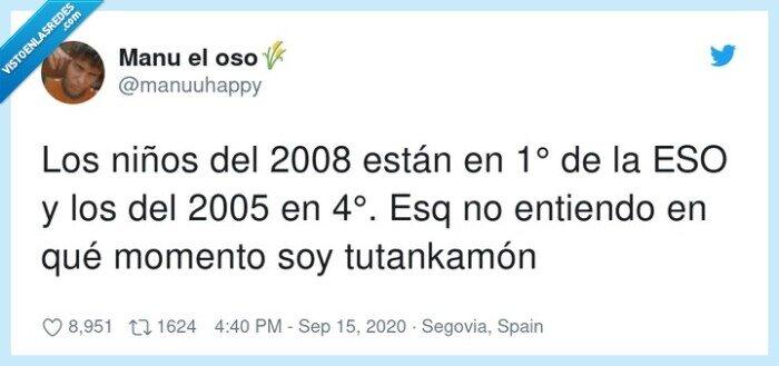 2005,2008,ESO,están,niños,tutankamón