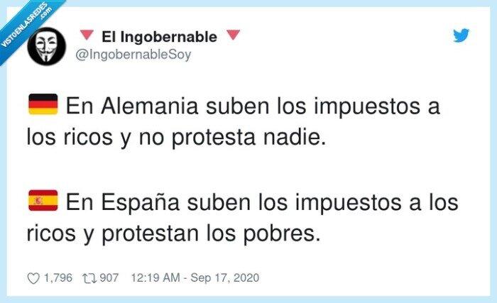alemania,españa,impuestos,protestar