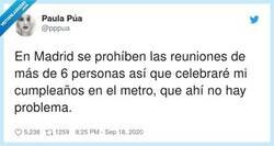 Enlace a Ojalá se ponga de moda cantar el cumpleaños feliz en el metro, por @pppua