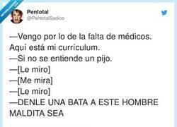 Enlace a Proceso de selección de médicos en Madrid, por @PentotalSadico
