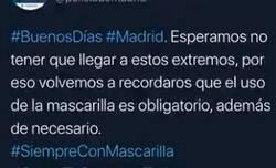 Enlace a Twitter se echa encima de la Policía de Madrid por pasarse de graciosa con un tuit amenazador que han tenido que borrar