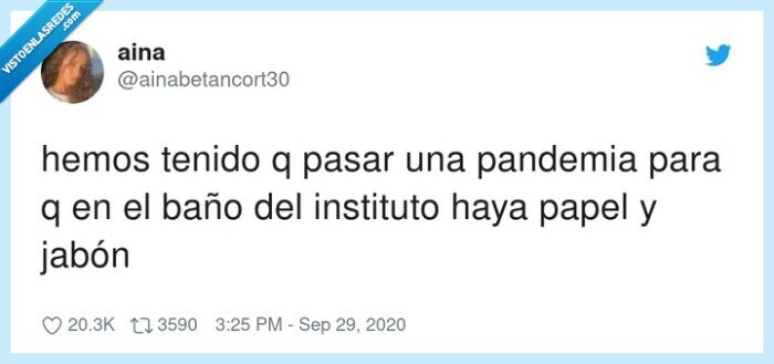 instituto,jabón,pandemia,papel