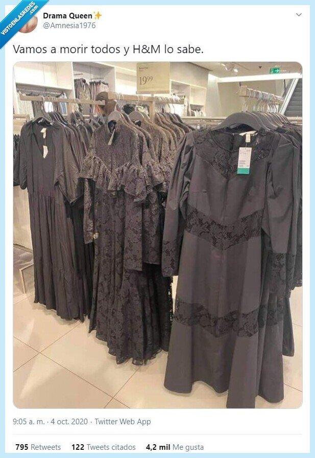final,H&M,moda,negra,ropa,vestido