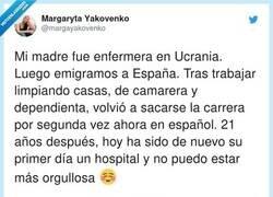 Enlace a Estamos orgullosos de esta mujer y no la conocemos, por @margayakovenko
