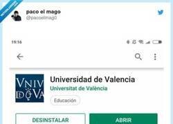 Enlace a La mejor review que hemos visto de una app de universidad, por @pacoelmag0