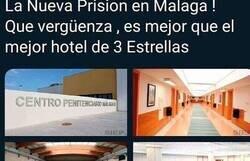 Enlace a La respuesta de un tuitero a las quejas por los 'lujos' de esta cárcel española que está generando un debate multitudinario en redes, por @ACS__11