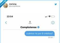 Enlace a SÍ mendigar retweets así, por @compIutense