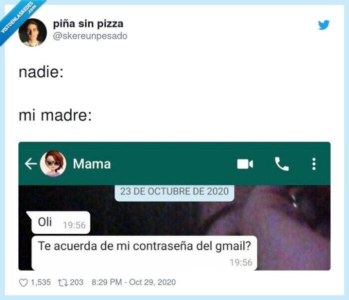 contraseñas,madres