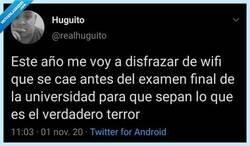 Enlace a El terror en persona, por @realhuguito