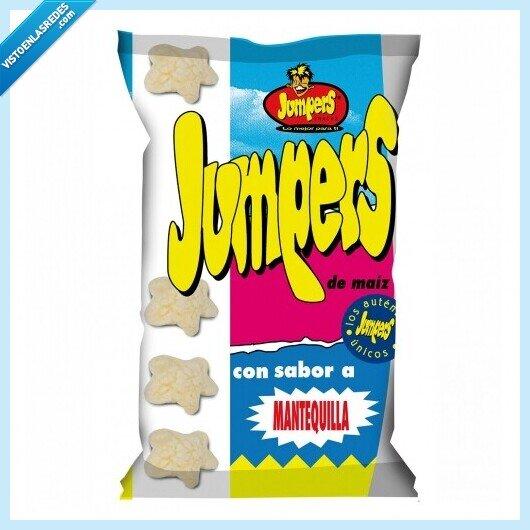 733720 - La mítica marca Jumpers traumatiza a toda una generación afirmando que sus snakcs NO son estrellas, @Jumpersoficial