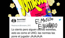 Enlace a La mítica marca Jumpers traumatiza a toda una generación afirmando que sus snakcs NO son estrellas, @Jumpersoficial
