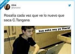 Enlace a En ocasiones veo Rosalías en los temas de C.Tangana , por @lanaikol