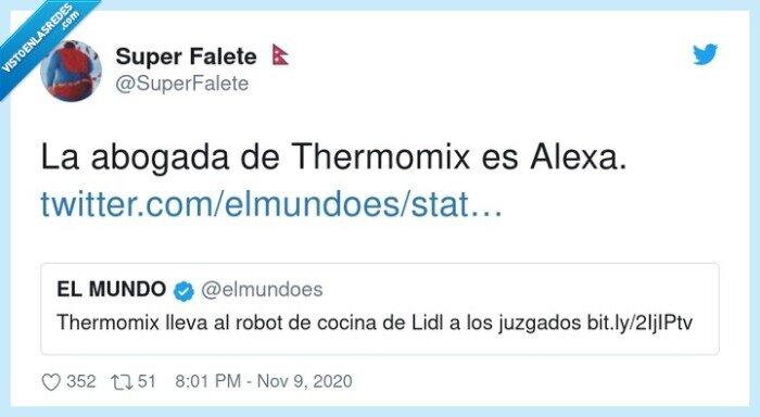 abogada,alexa,lidl,thermomix