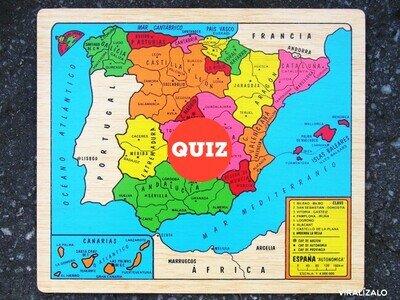 35611 - TEST: ¿Puedo adivinar de qué ciudad de España eres? (Península Ibérica)
