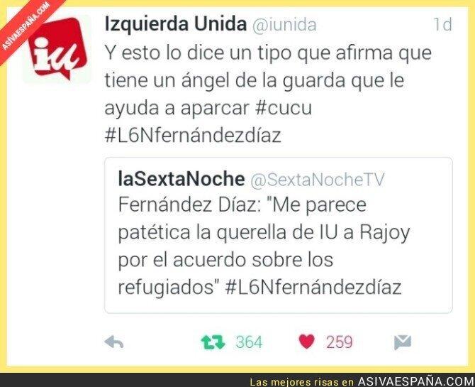 39432 - Zasca de IU a Fernandez Diaz