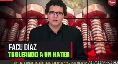 40270 - El troleo de Facu Díaz a alguien que le amenaza por teléfono [Buenísimo]