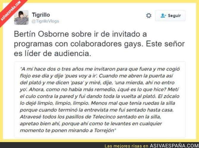 41312 - Tremendas palabras de Bertín Osborne hacia sus compañeros de Telecinco. Madre mía...