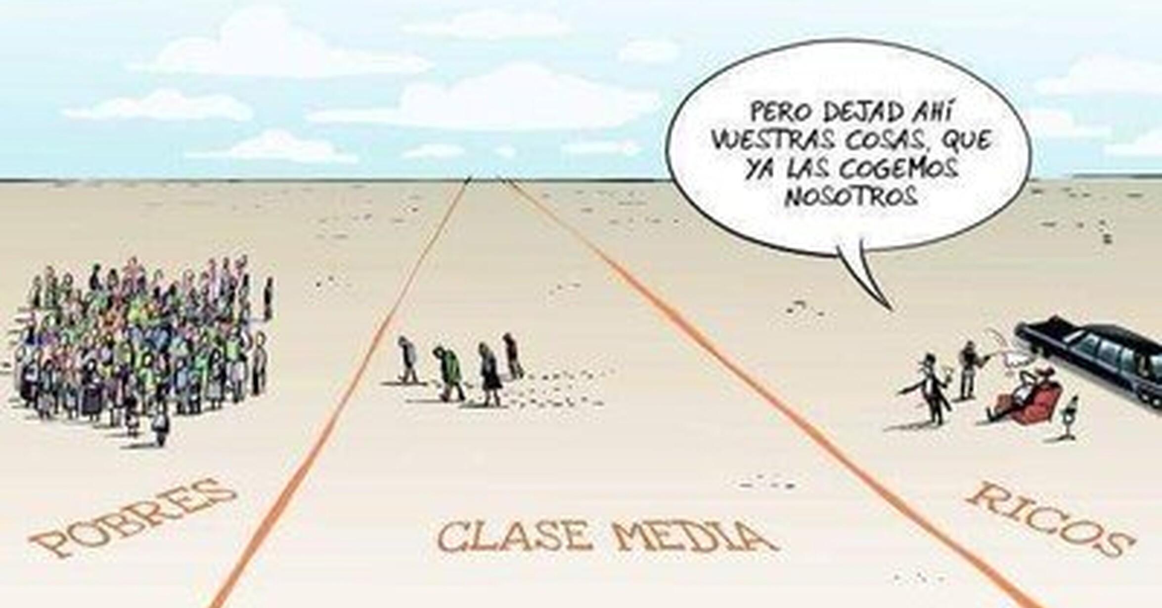 Resultado de imagen de clase media