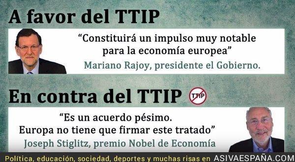 41342 - ¿Hacer caso a Rajoy o a un Premio Nobel de Economía?