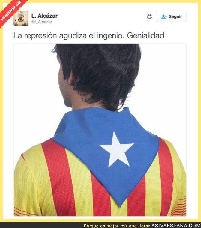 42111 - Genialidad táctica de los independentistas ante la censura de esteladas para la final de Copa