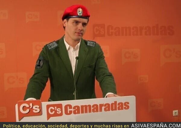 42684 - Con el viaje de Albert Rivera a Venezuela, arranca oficialmente la campaña electoral en España