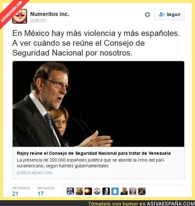 42924 - Rajoy no tiene límites en su afán de poder
