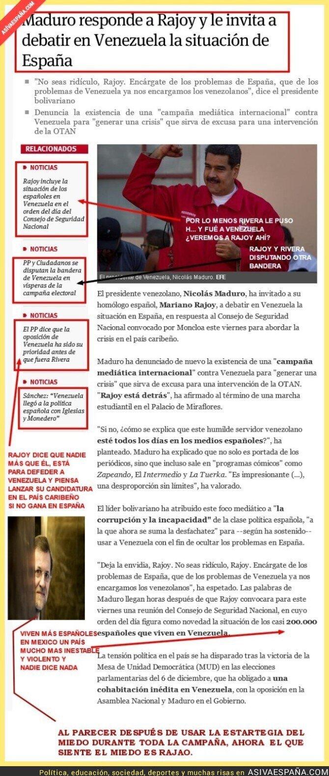 42974 - ¿Aceptará Rajoy la invitación, ya que tanto le preocupa Venezuela?