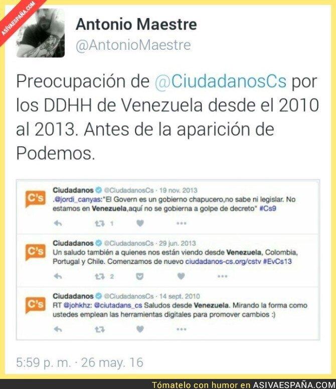 42992 - Tres mensajes de 2010 a 2013 de Ciudadanos sobre Venezuela