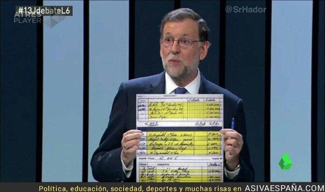 45313 - Primera verdad que dice Rajoy en el Debate a Cuatro