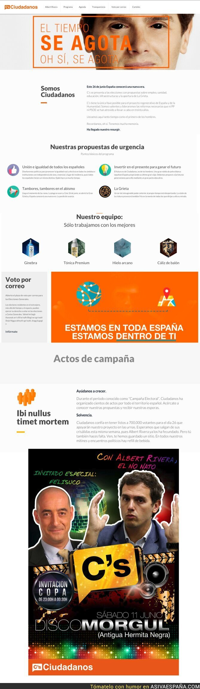 46052 - Crean una web de Ciudadanos muy flipante para las elecciones del 26J