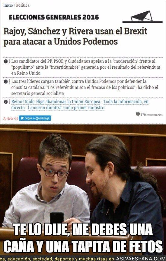 47276 - Pablo Iglesias gana la apuesta