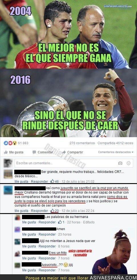48986 - ¿El Cristianismo Ronaldo? Ya disponible en la afición del Real Madrid