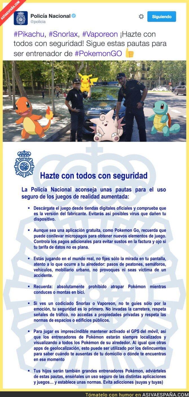 49279 - Los consejos que da la Policía para ser un Maestro en Pokémon Go con total seguridad en las calles