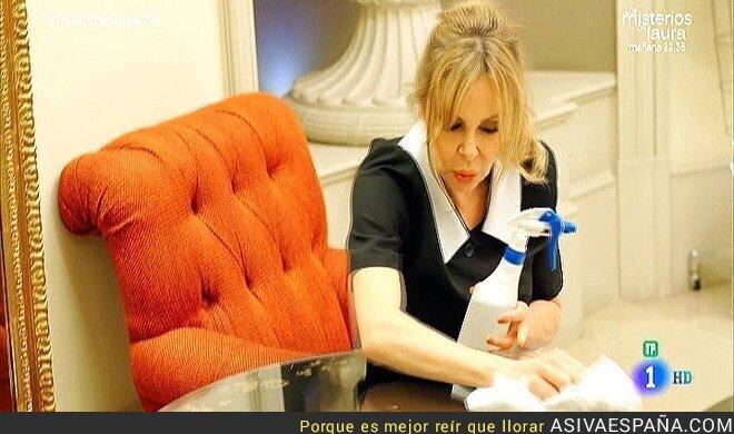 49310 - La carta de una limpiadora de hotel a Ana Obregón que ha revolucionado las redes sociales