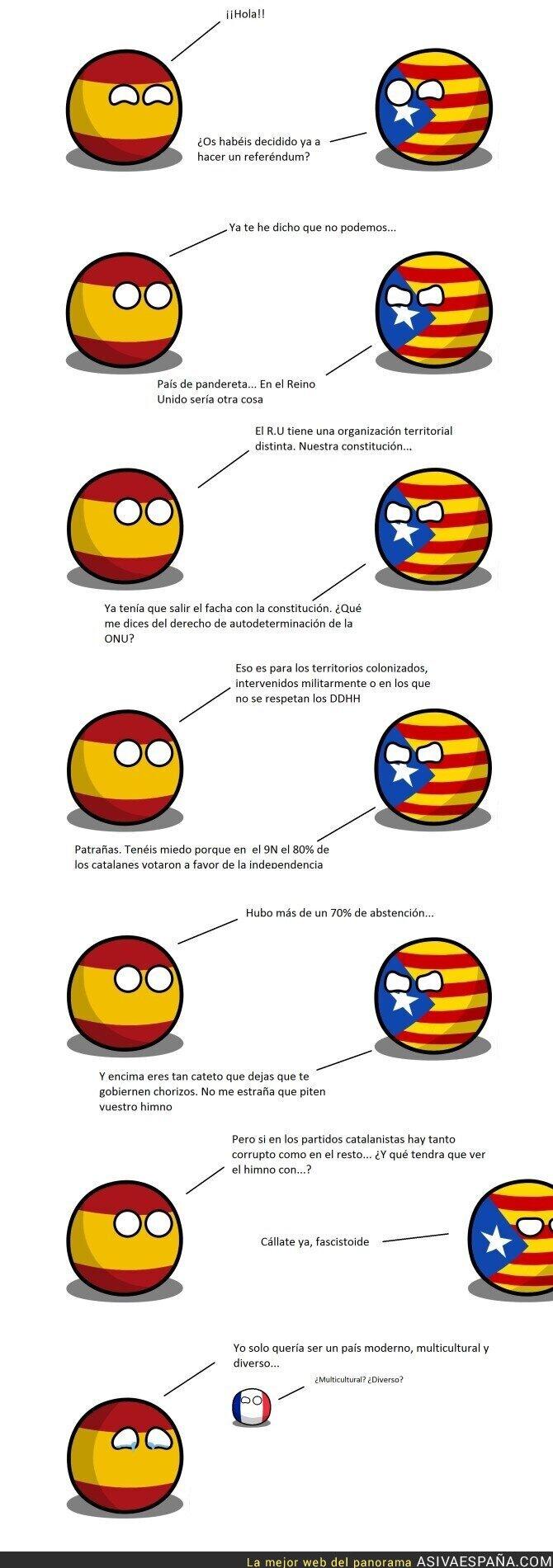 49675 - España y el gobierno catalán