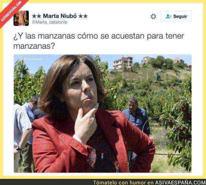 49711 - Soraya Sáenz de Santamaría tiene una duda
