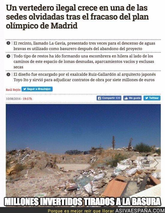 51017 - Así está la situación en la Madrid olímpica...