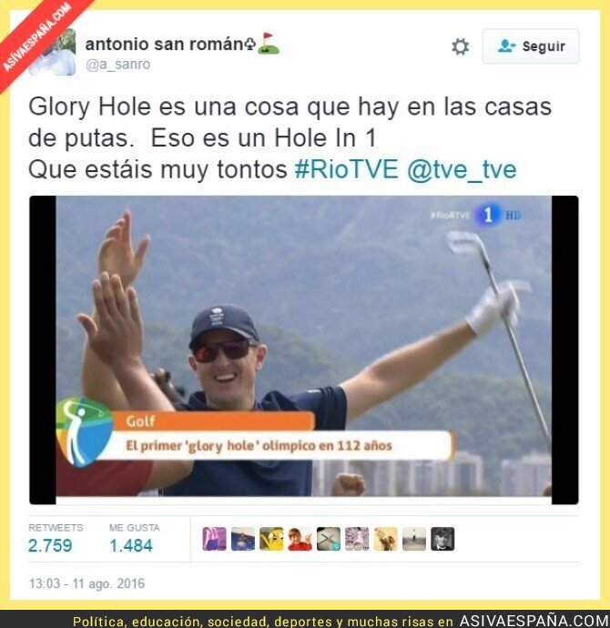 51068 - Vaya fail de TVE retransmitiendo el golf