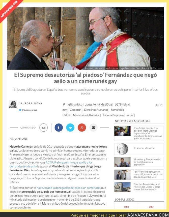 51494 - El Supremo desautoriza 'al piadoso' Fernández