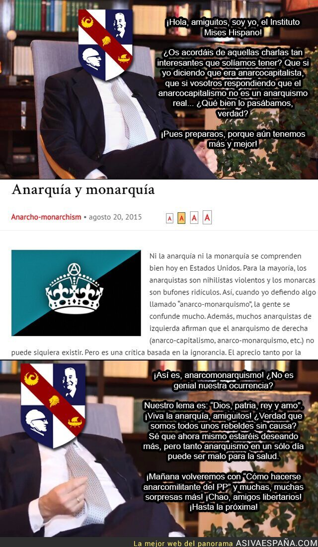 51943 - Anarcocapitalistas monárquicos, ¡lo que faltaba por ver!
