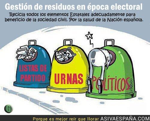 53003 - En votaciones recicla