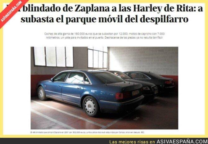 54284 - A ver quién vende las seis Harley Road King que compró Barberá para escoltar al Papa en 2006