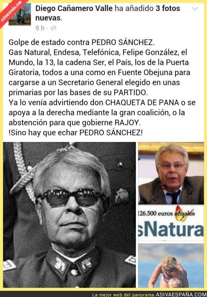54346 - Diego Cañamero opina sobre Felipe González