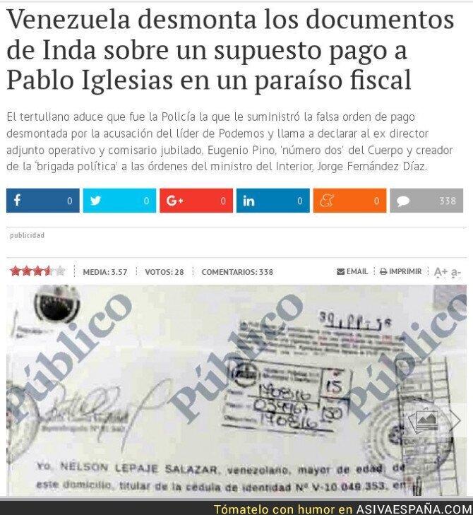 54487 - Incluso Venezuela desmonta a Inda y le deja como embustero
