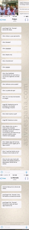 54774 - Los whatsapps del grupo de El Prenda tras cometer otro abuso en Córdoba