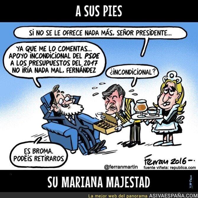 55084 - El PSOE a las órdenes de Mariano