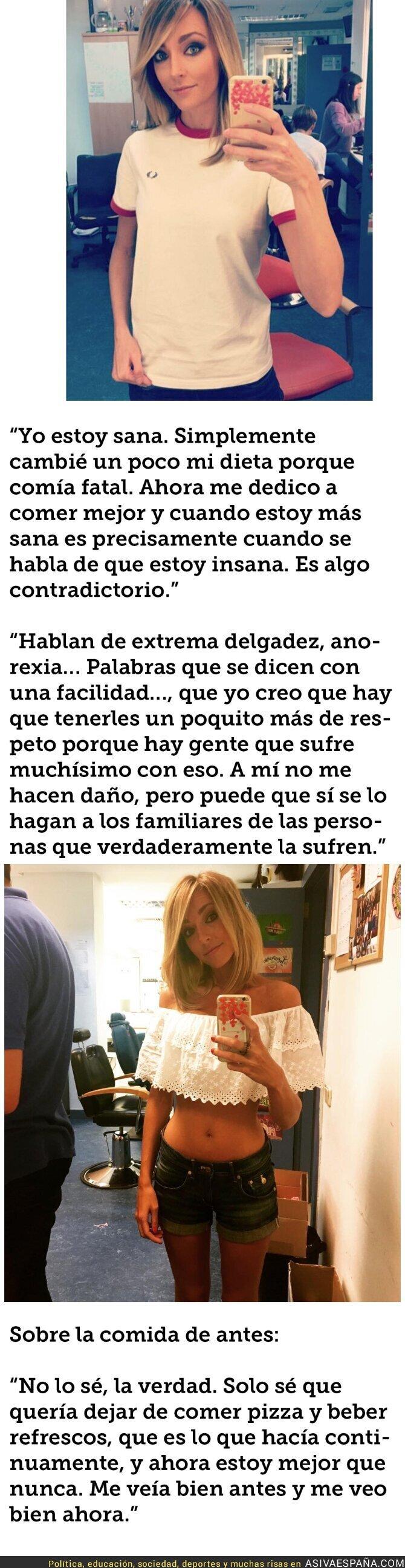 55592 - Anna Simón termina con la polémica de su posible anorexia con estas palabras
