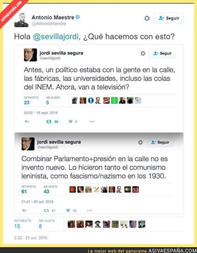 55653 - Una hipocresia más en el PSOE. Y las que llevan.